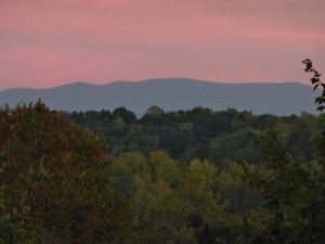 Smokey Mountains from Anderson Estate